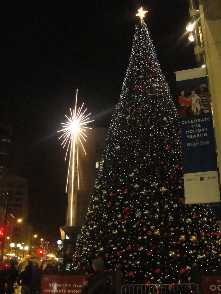 Westlake Center Christmas Tree: Seattle, WA