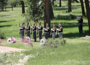 Memorial Day Ceremony: Bergen Park, Colorado | WildTalesof.com