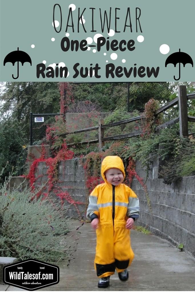 Oakiwear Rain Suit Review | WildTalesof.com