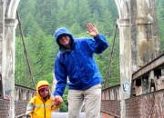 Being Brave: Crossing the Alexandra Bridge Near Hope, BC | WildTalesof.com