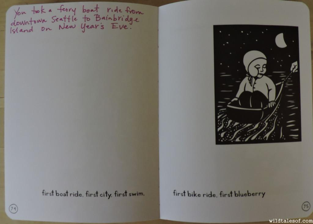 Record those Adventures: Nikki McClure's Grow Journals | WildTalesof.com