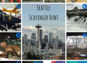 Seattle Scavenger Hunt for Kids | WildTalesof.com