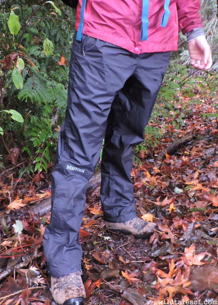 Marmot Women's PreCip Rain Pants Review--WildTalesof.com