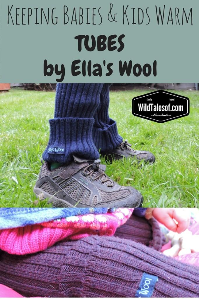 Keeping Babies & Kids Warm: Ella's Wool Tubes (Wool Pants) Review | WildTalesof.com