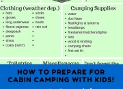 How to Prepare for Cabin Camping with Kids | WildTalesof.com