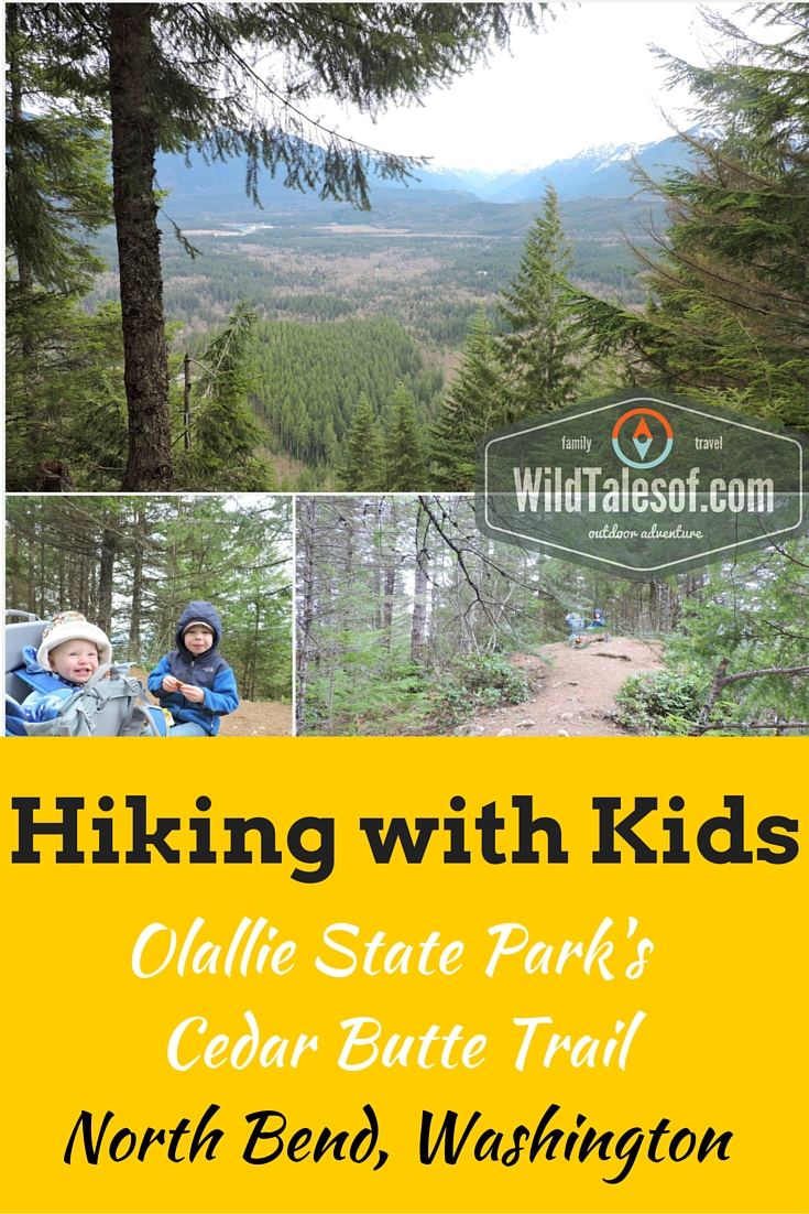 Hiking with Kids: Olallie State Park's Cedar Butte Trail | WildTalesof.com