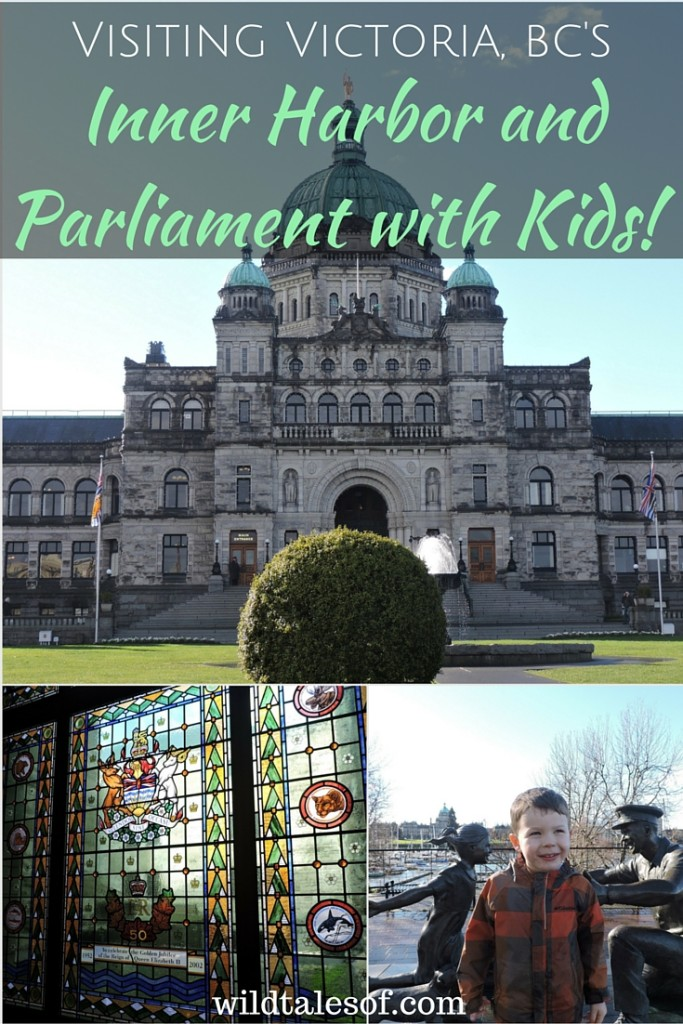 Victoria, BC's Inner Harbor and Parliament with Kids | WildTalesof.com