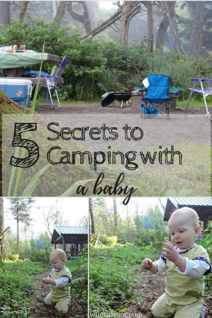 5 Secrets to Camping with a Baby | WildTalesof.com