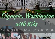 Olympia, Washington with Kids: Weekend Itinerary | WildTalesof.com