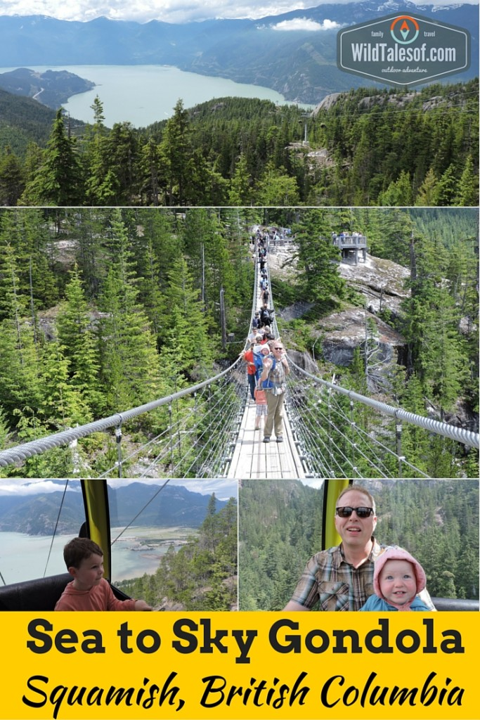 Family Travel Vlog: Sea to Sky Gondola with Kids | WildTalesof.com