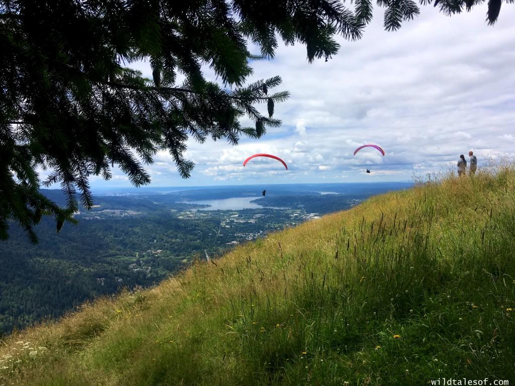 Hiking with Kids: Chirico Trail to Issaquah, WA's Poo Poo Point | WildTalesof.com