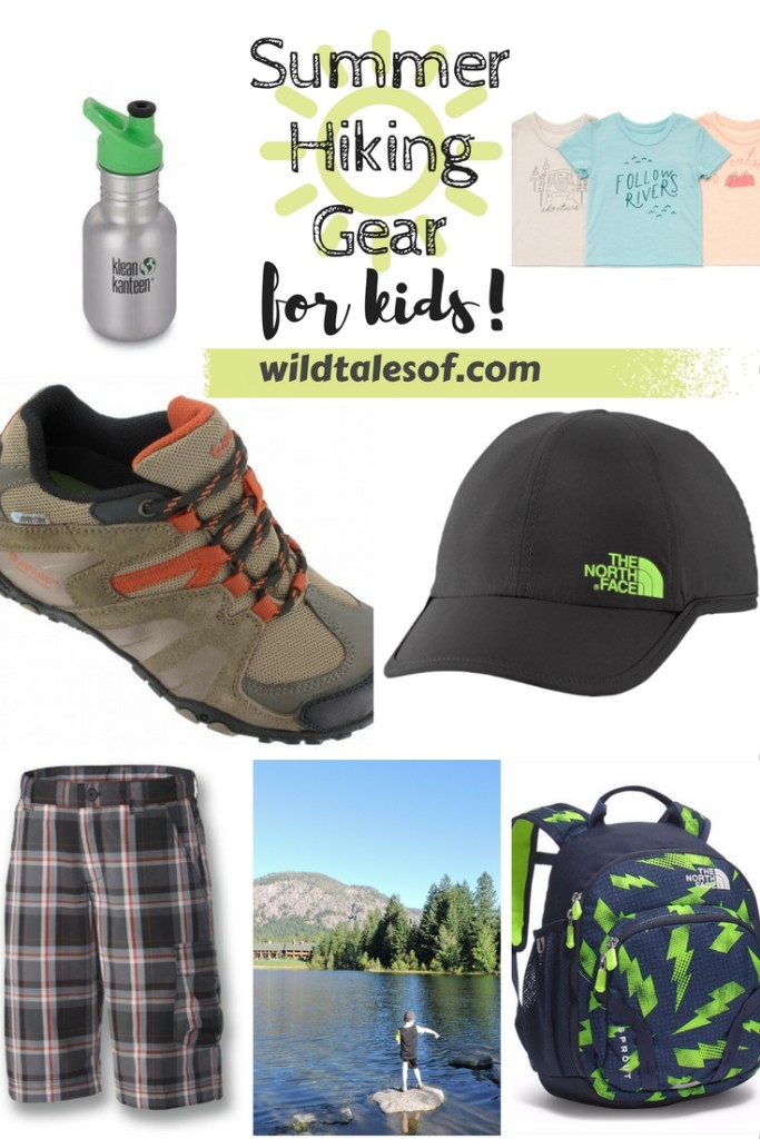 Summer Hiking Gear for Kids! | WildTalesof.com