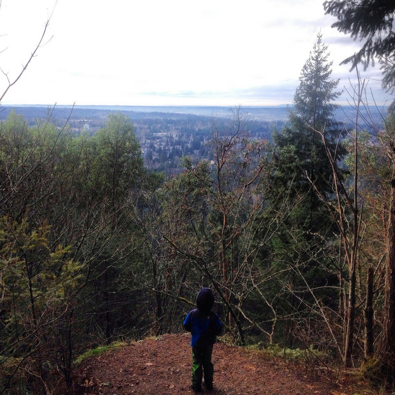 Hiking with Kids: Seattle Area Hikes with Viewpoints--Wildside to De Leo Wall Loop | WildTalesof.com