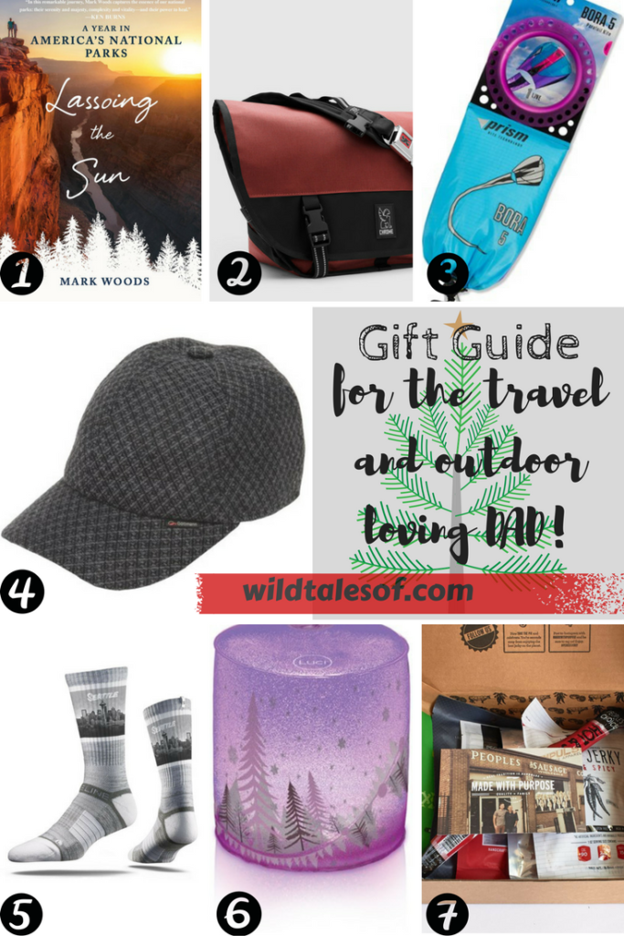 Gift Guide for the Travel and Outdoor Loving Dad | WildTalesof.com