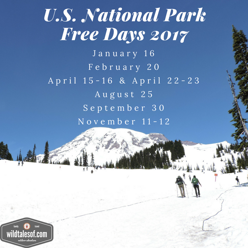 US National Park Free Days | WildTalesof.com