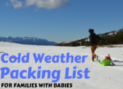 Cold Weather Packing List for Families with Babies and Young Children | WildTalesof.com