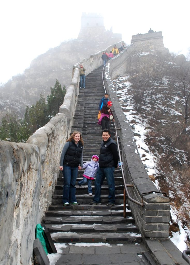 The Great Wall of Chinia---14 Family Travel Destination Ideas: Where the Experts are Vacationing in 2017 | WildTalesof.com