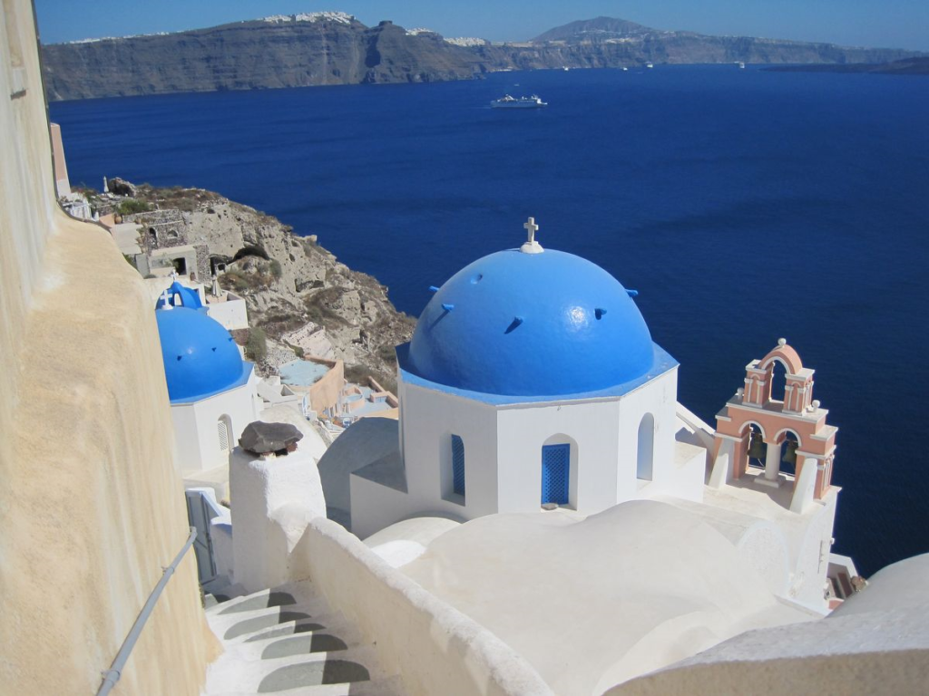Santorini, Greece   14 Family Travel Destination Ideas: Where the Experts are Vacationing in 2017   WildTalesof.com