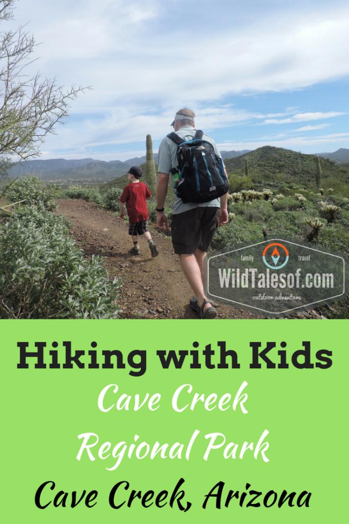 Hiking with Kids: Cave Creek Regional Park near Phoenix, AZ | WildTalesof.com