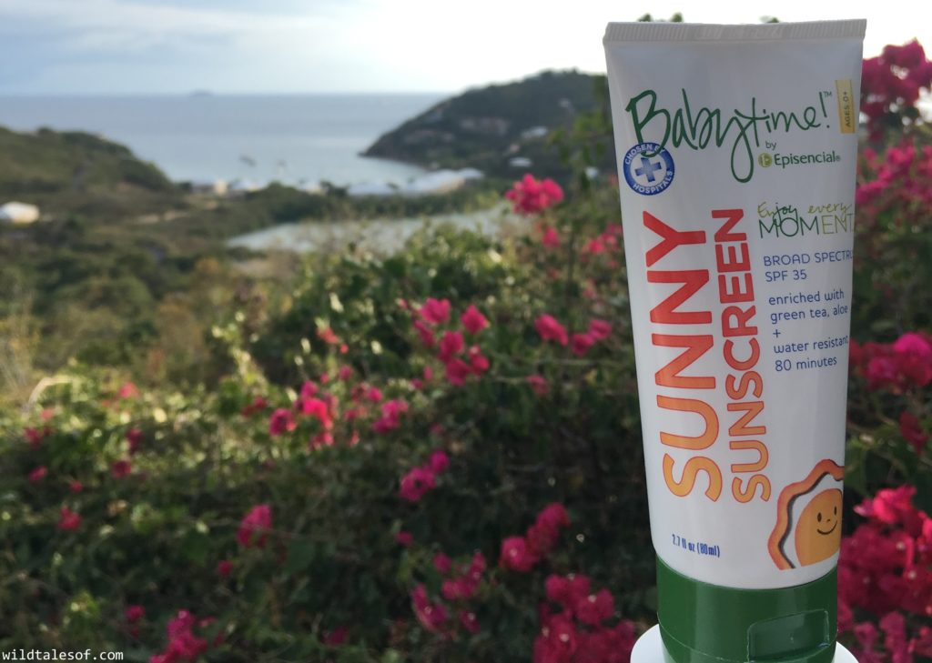 Babytime! Sunny Sunscreen Review | WildTalesof.com