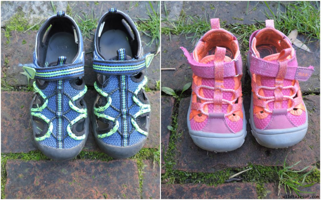 Summer Sandals for Active Kids: M.A.P. Sandals | WildTalesof.com