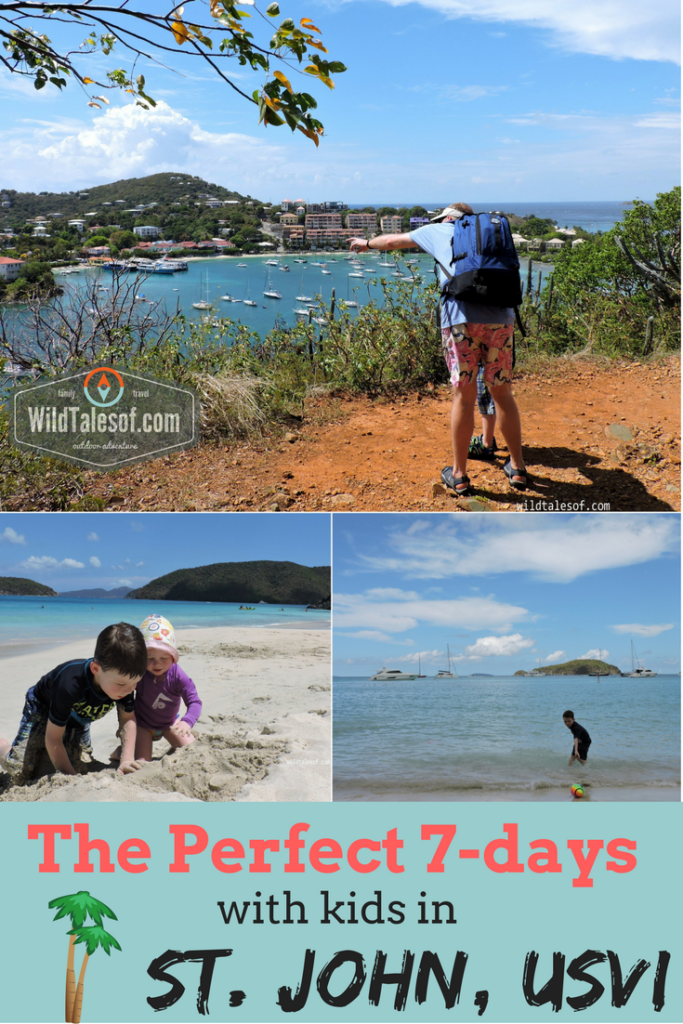 St. John, U.S. Virgin Islands with Kids: 7-day Itinerary | WildTalesof.com