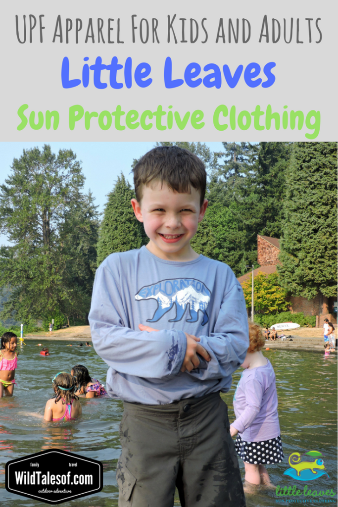 Sun Protective Clothing: Little Leaves Clothing Company Review | WildTalesof.com
