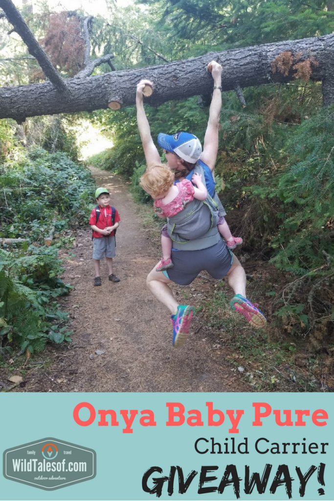 #AdventureWithThemOnya: Enter to Win an Onya Baby Pure Child Carrier! | WildTalesof.com