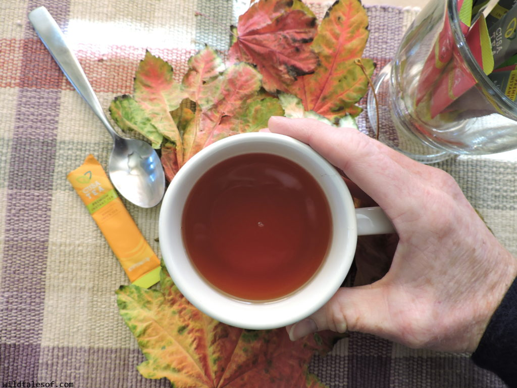 Instant Pick-me-up for the Adventurous Parent: Cusa Tea Review | WildTalesof.com