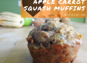 Healthy Breakfast for Adventure Families: Apple Carrot Squash Muffins | WildTalesof.com