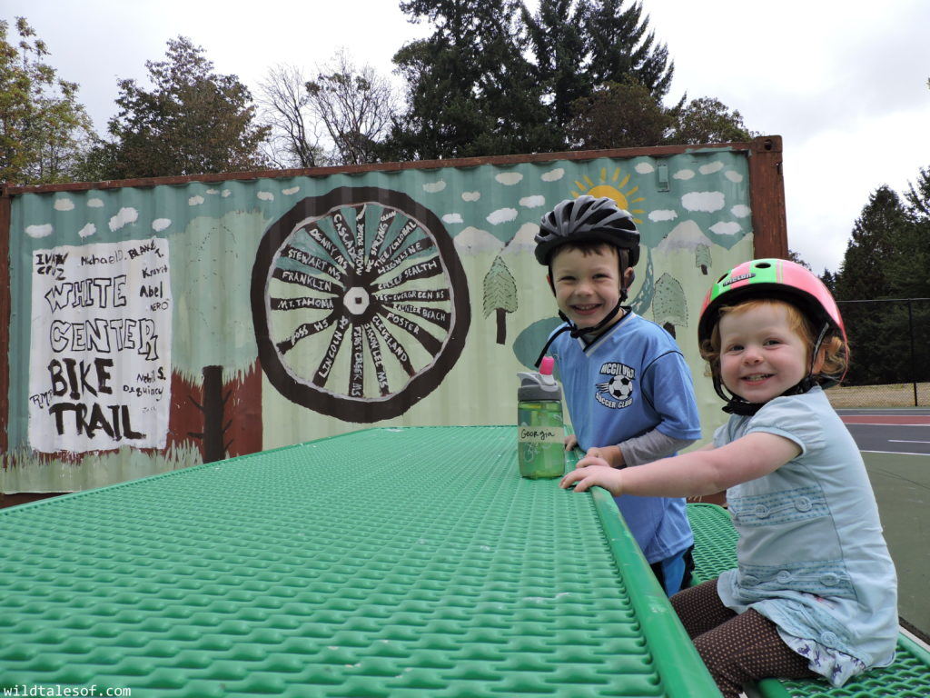 Seattle's Bike Playground: Practice Bike Safety in White Center Traffic Garden | WildTalesof.com