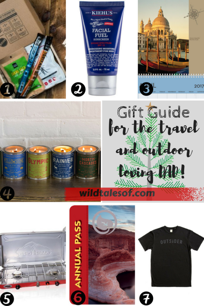 Gift Guide for the Travel AND Outdoor-Loving Dad: 2017 Edition | WildTalesof.com